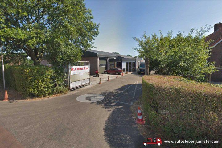 Autosloopbedrijf M.J. Rutte en Zonen